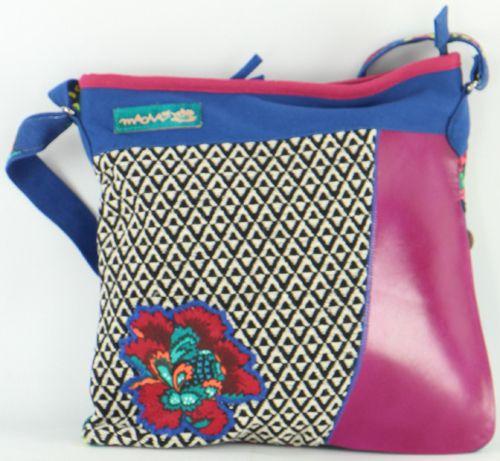 Sac pour Femme Macha Ethnique et Original Halaya Bleu 277275