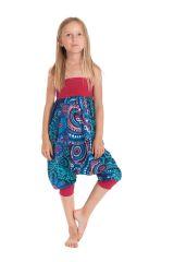 Sarouel 2en1 pour Enfant Original et Coloré Girafe Turquoise 280277