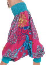 Sarouel 2en1 Rose et Bleu pour Enfant Original et Coloré Girafe 280279