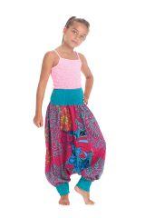 Sarouel 2en1 Rose et Bleu pour Enfant Original et Coloré Girafe 280280