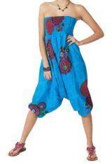 Sarouel 3 en 1 bleu Morgan 267757