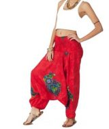 Convertible baggy trousers in dress or combi wally 267780