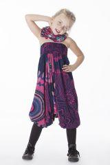 Sarouel 3 en 1 Transformable et Coloré pour Fille Suzanne 286333