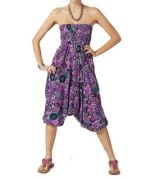 Sarouel 3 en 1 violet Malaury 267736