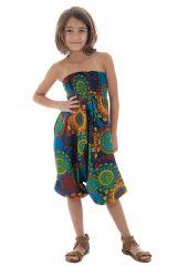 Sarouel 3en1 imprimés fantaisies multicolores Dalia 294658