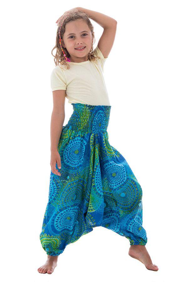 Sarouel 3en1 pour enfant avec imprimés ethniques Dalia 294783