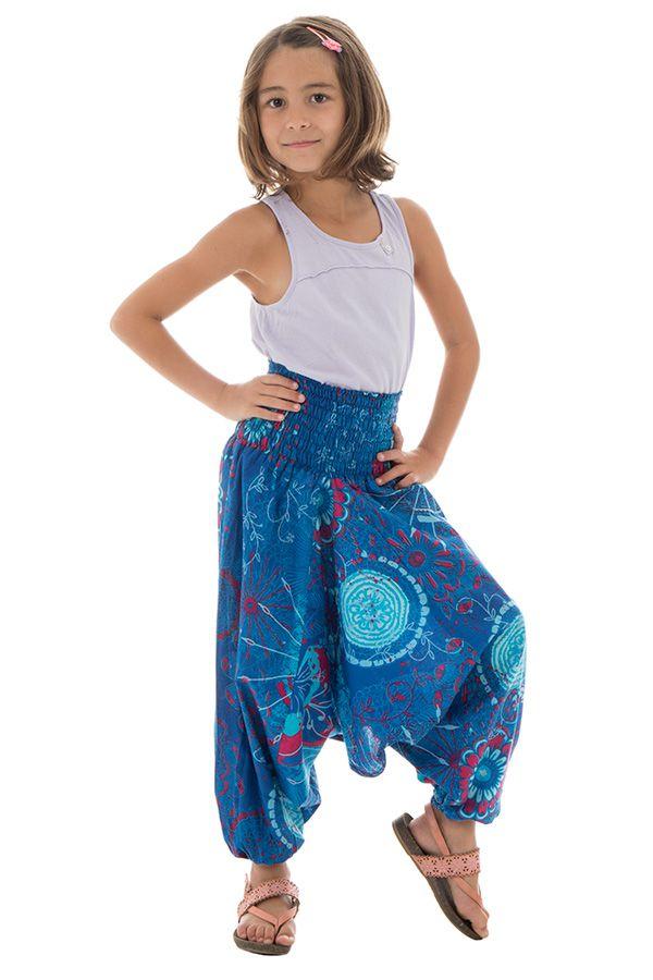Sarouel 3en1 pour enfant avec imprimés fantaisies Dalia 294769