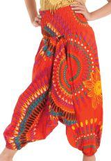 Sarouel 3en1 pour Enfant Ethnique et Coloré Mandy Orange 279943