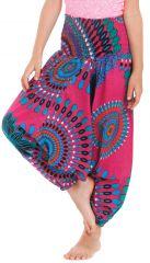 Sarouel 3en1 pour Enfant Ethnique et Coloré Mandy Rose 279946