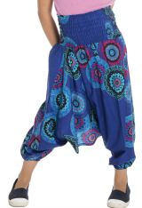 Sarouel 3en1 style seventies pourvu d'un smocks Dalia 294740