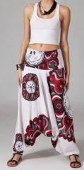 Sarouel blanc pour femme Nitya 269410
