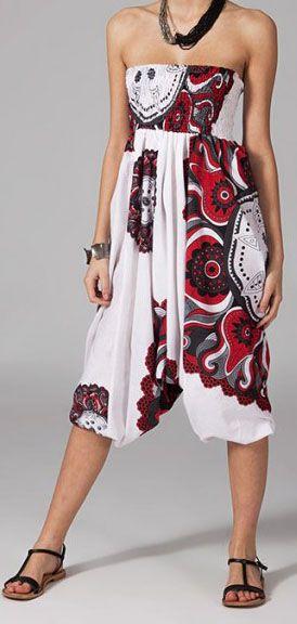 Sarouel blanc pour femme Nitya 269411