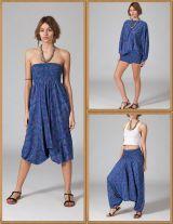 Sarouel Bleu 3en1 Fluide et Original Rutva 283938