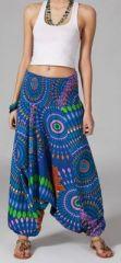 Sarouel bleu pour femme 3en1 Vanida 269442