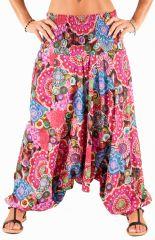 Sarouel coloré vêtement multi-fonctions 3en1 Agnès 292309