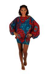 Sarouel convertible motif floral aux couleurs exotiques Fidgie 306252