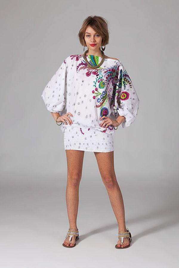 Sarouel d'été baba cool en coton transformable 3 en 1 Zara 289361