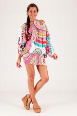Sarouel d'été blanc vêtement multifonctions 3 en 1 Yasmina 289390