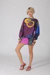 Sarouel d'été coloré en coton transformable 3 en 1 Zara 289376