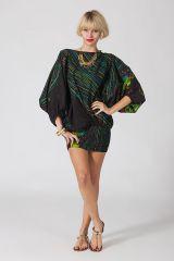 Sarouel d'été noir en coton transformable 3 en 1 Zara 289334