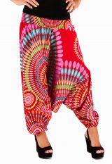 Sarouel d'été rouge vêtement multifonctions 3 en 1 Jenny 292327