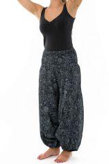 Sarouel d'hiver pour femme avec un imprimé de spirales Tourny 305549