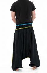 Sarouel élastique en coton original tendance à poches Kopee 302786