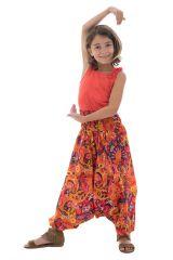 Sarouel estival transformable pour enfant avec imprimés Zély 294353