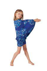 Sarouel Ethnique et Coloré 3en1 pour Enfant Mandy Bleu 322074