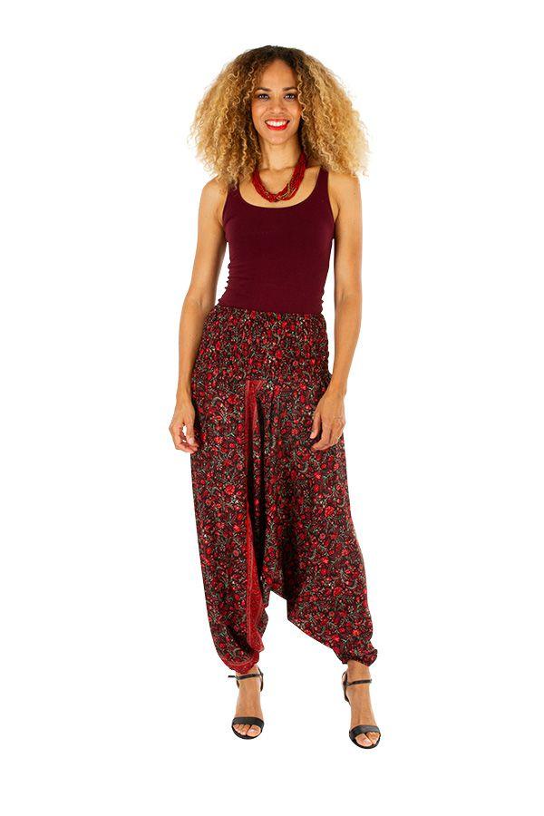 Sarouel ethnique sarwel femme 3en1 look baba-chic Viky 311443