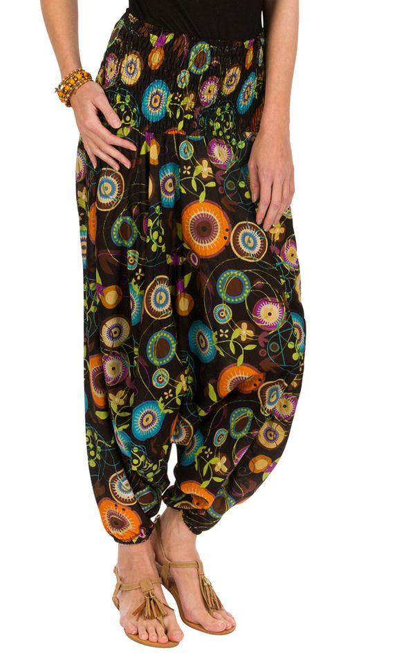 Sarouel ethnique vêtement multi-fonctions 3en1 Agnès 292294