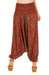 Sarouel femme 3 en 1 Indien pour un look bohème tendance Minah 311528