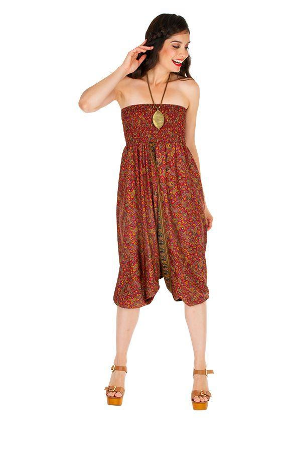Sarouel femme 3 en 1 Indien pour un look bohème tendance Minah 311530