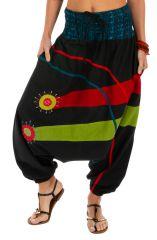 Sarouel femme à porter mode ethnique original coloré Dream 314122
