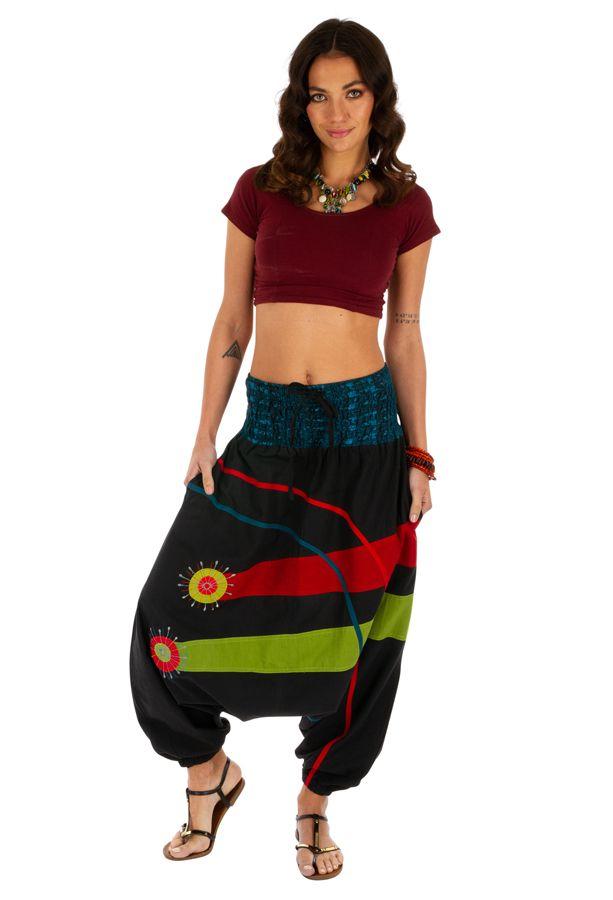 Sarouel femme à porter mode ethnique original coloré Dream 314123
