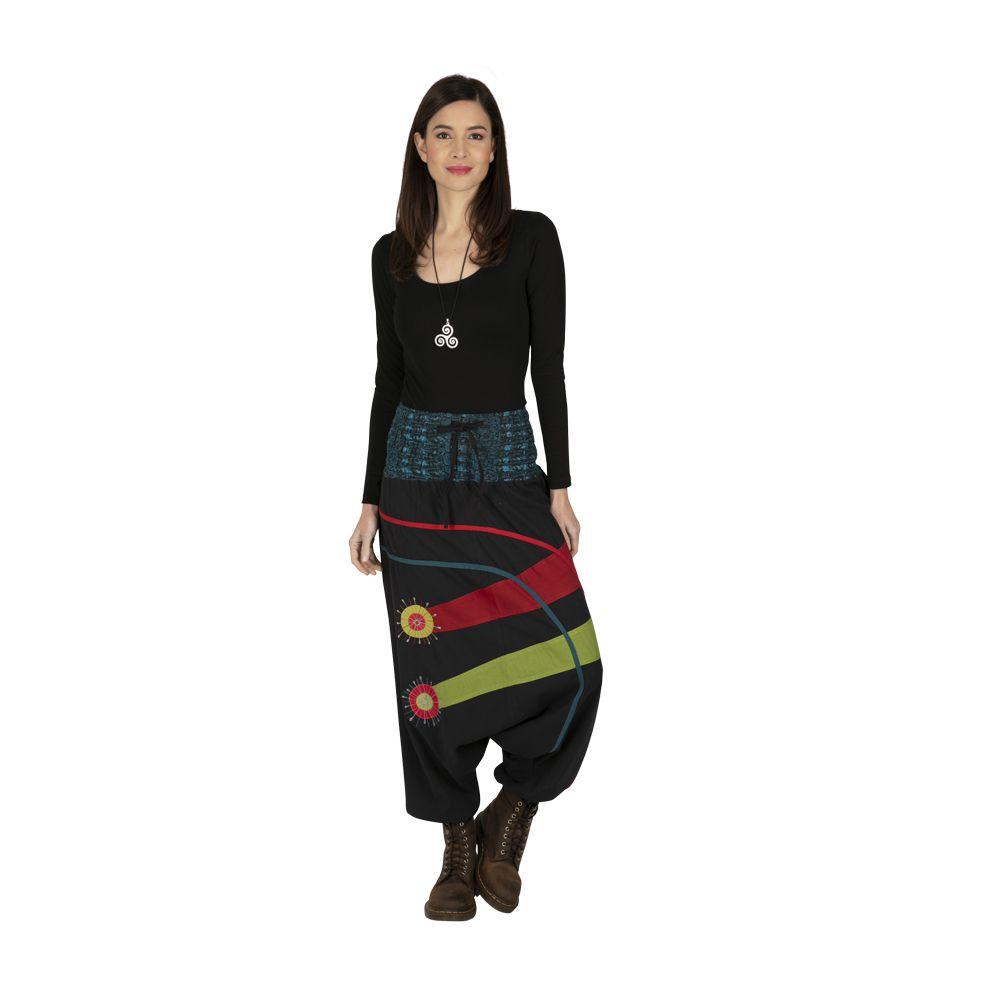 Sarouel femme à porter mode ethnique original coloré Dream 323306
