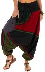 Sarouel femme à porter mode ethnique pas cher Lylouen 314092
