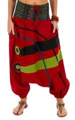 Sarouel femme à porter original mode chic ethnique Shann 314116