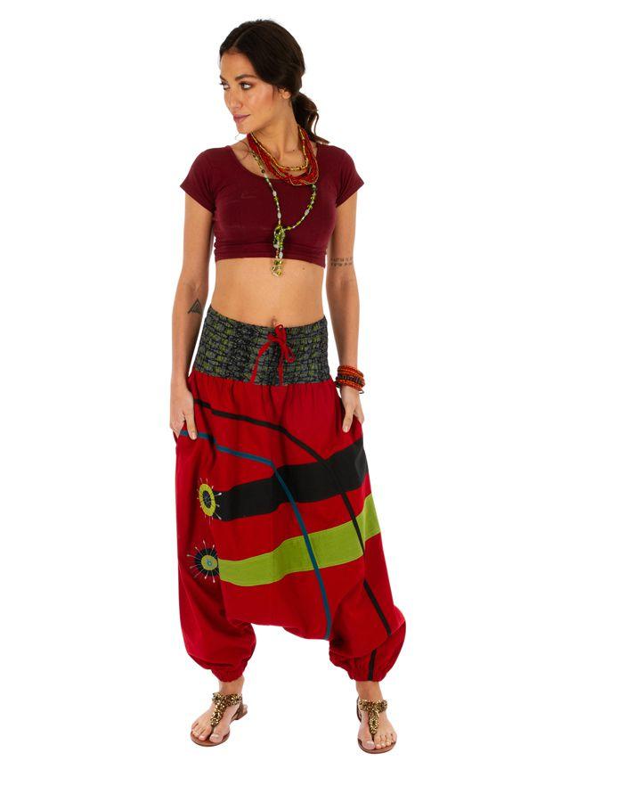 Sarouel femme à porter original mode chic ethnique Shann 314117
