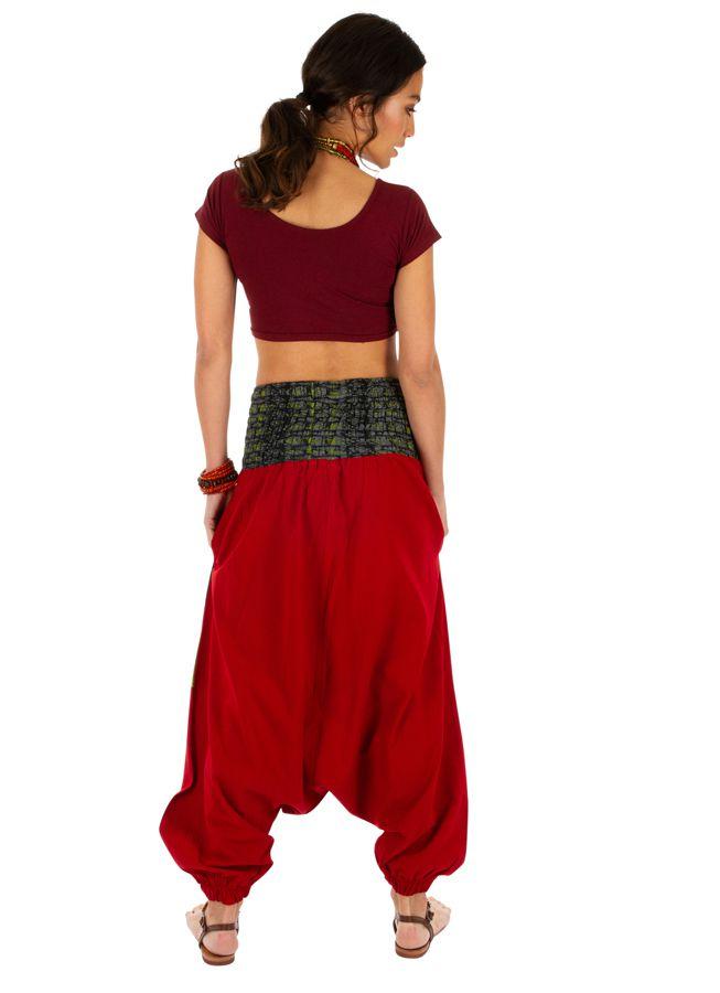 Sarouel femme à porter original mode chic ethnique Shann 314118