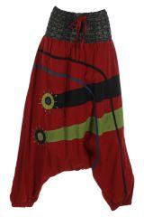 Sarouel femme à porter original mode chic ethnique Shann 314830