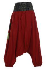 Sarouel femme à porter original mode chic ethnique Shann 314831
