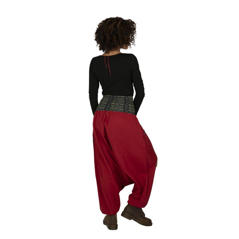 Sarouel femme à porter original mode chic ethnique Shann 323305