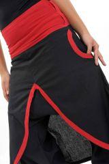 Sarouel femme avec un effet jupe en coton du Népal Minay 305471
