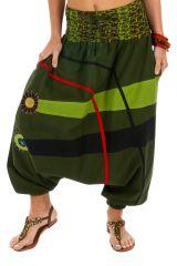 Sarouel femme chic ethnique à porter mode original pas cher Dream 314135