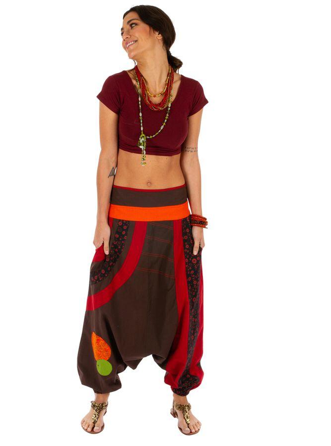 Sarouel femme chic sport yoga détente pas cher Lylouen 314099