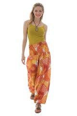 Sarouel femme coloré en coton pour l'été Roxana 288774