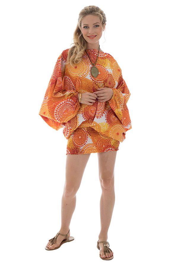 Sarouel femme coloré en coton pour l'été Roxana 288776