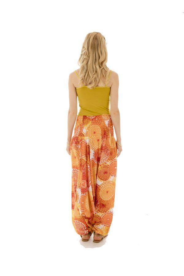 Sarouel femme coloré en coton pour l'été Roxana 288778