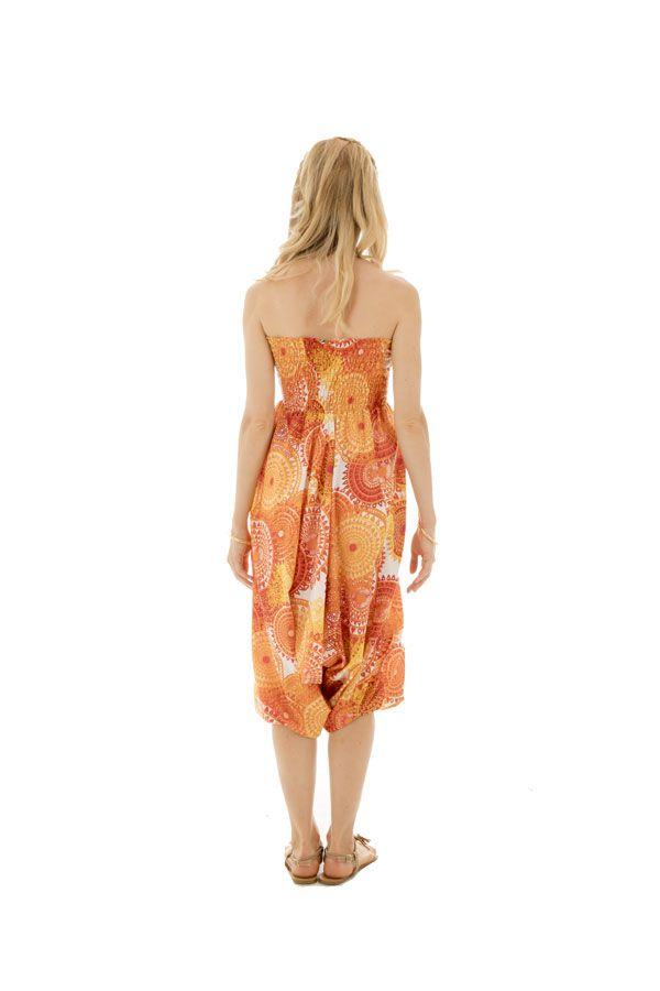 Sarouel femme coloré en coton pour l'été Roxana 288779
